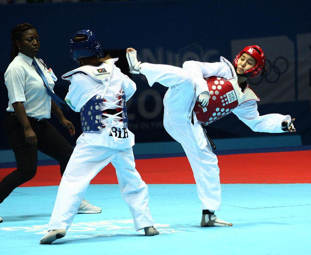 Juegos Olímpicos de la Juventud Nanjing 2014, la atleta Mitzi Carrillo le dio a la delegación mexicana la primera medalla olímpica en esta justa.