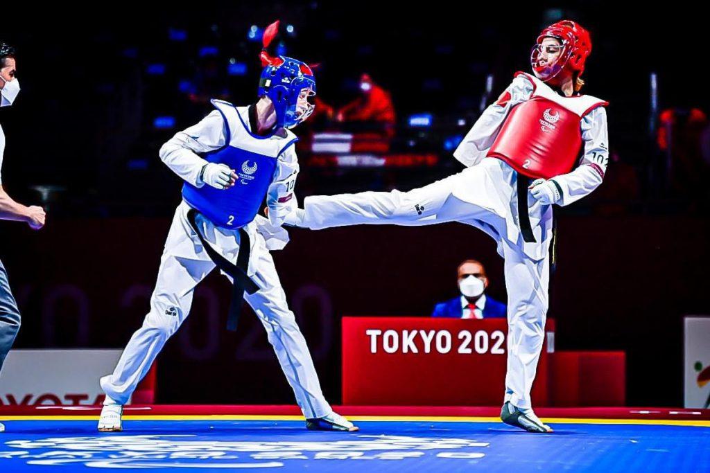 La representante de Perú, Angélica Espinoza, logró la medalla de oro en la categoría de -49 kilogramos K44, en la disciplina de Para Taekwondo.