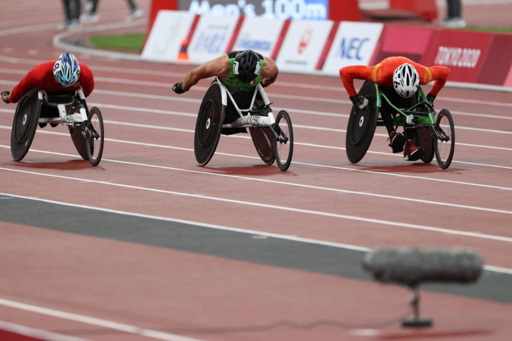 El para atleta mexicano Juan Pablo Cervantes, logró un registro de 13 segundos, 87 centésima en la prueba de los 100 metros T54.