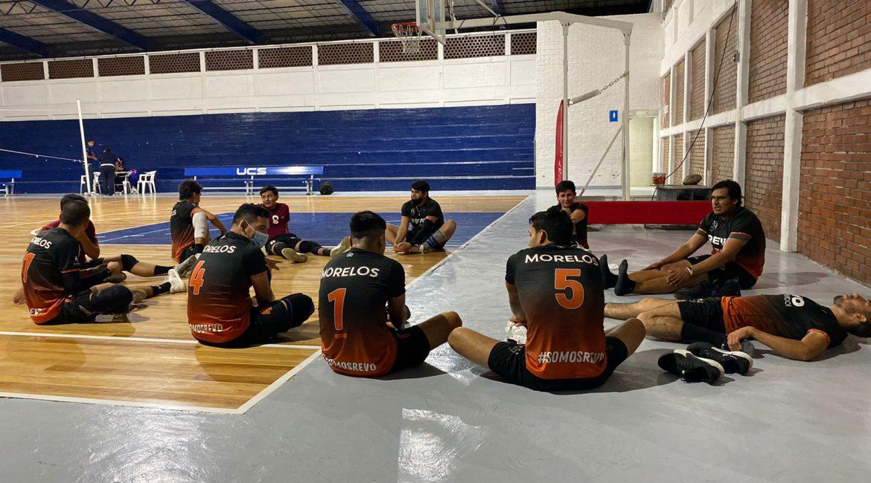 Inicia la participación del equipo sub 29 en el campeonato nacional de clubes de segunda división de voleibol varonil